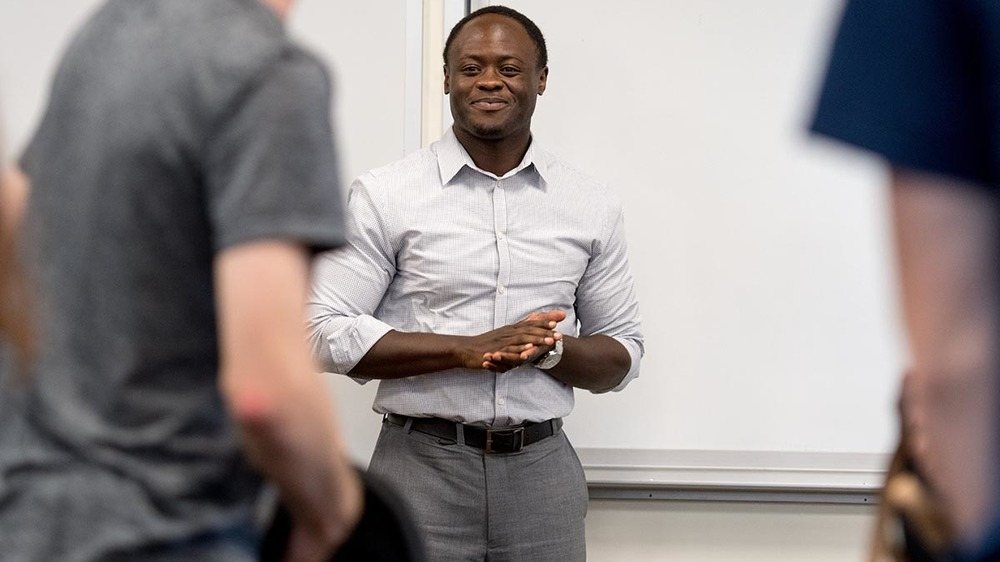 Moreau First Year Program Instructor Bernard Akatu
