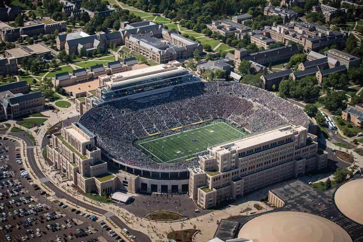 Photos of Notre Dame Stadium | Latest | NDWorks ...