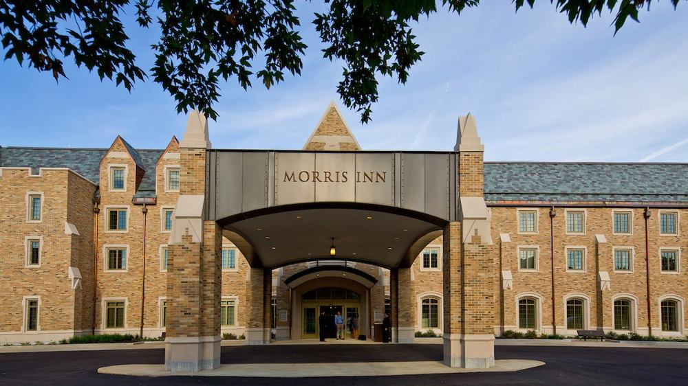 Morris Inn Porte Cochere Feature